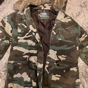 Camouflage thin jacket!!